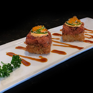 Crispy Rice & Spicy Tuna