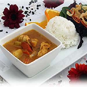 Lunch Special Yellow Curry