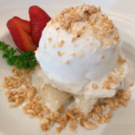 Sweet Sticky Rice w/ Coconut Ice Cream